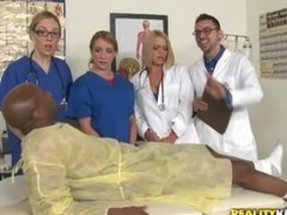 CFNM Doctor Glasses Interracial Nurse Teen Uniform