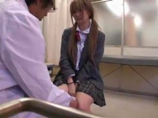 Asian Doctor Pigtail Teen Uniform