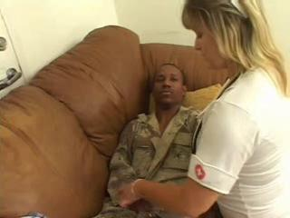 Interracial MILF Nurse Uniform