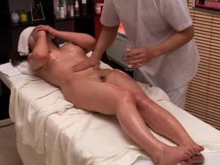 Reluctant tart used by her masseur