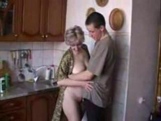 Mother And Son Kitchen Incest
