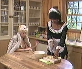 Kitchen Maid MILF Uniform Vintage
