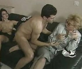 Glasses MILF Threesome Vintage