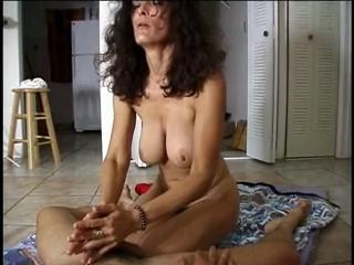 Big Tits Handjob MILF Natural