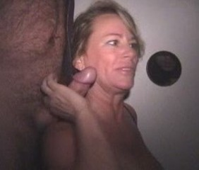 Gloryhole Strapon