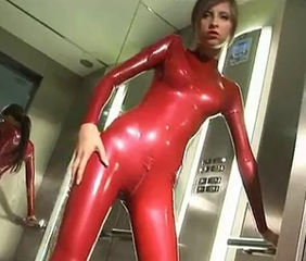 Babe Cute Fetish Latex Teen