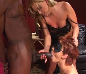 Big cock Blowjob Fetish Interracial MILF Threesome