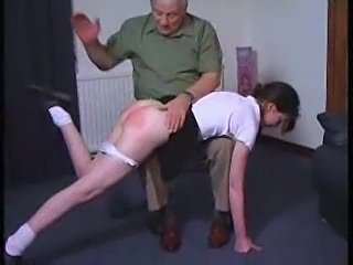 Old and Young Spanking