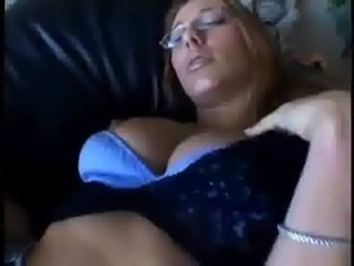 Blonde Glasses MILF Sleeping