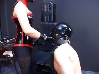 german latex and rubber and tied up prt2...BMW