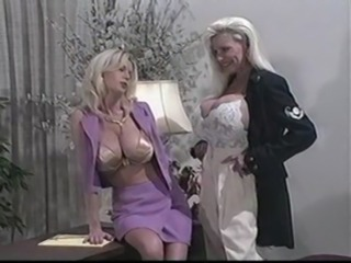 Treasure Meets The Blonde - Treasure Chest & Carolyn Monroe...