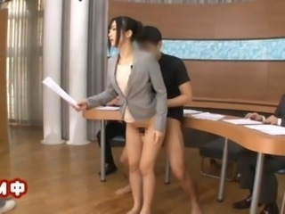 Japanese news reader censored