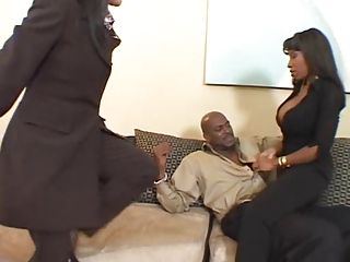 Vanessa Blue Big Tits In Hot Threesome Fucking