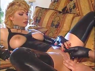 Blonde Latex MILF