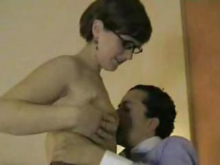 Amateur sex in hotel while friend tapes