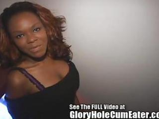 Amateur Ebony Gloryhole Teen