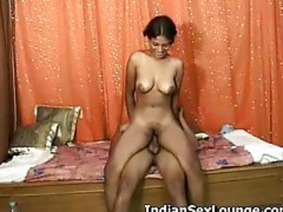 Amateur India Cabalgando Adolescente