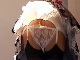 Maid Girdle and Nylon Layers