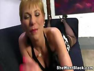 Blonde Mature Pov
