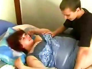 Russian Bbw Mom And Son