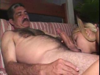 Blonde Blowjob Old and Young