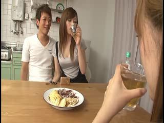 Drunk Kitchen Teen Threesome
