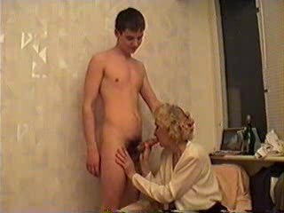 Blowjob CFNM Mature Older