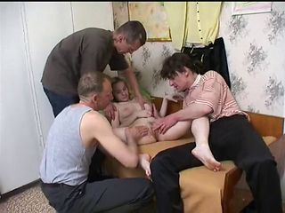 Daughter Gangbang Old and Young