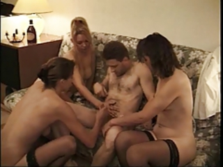 Anal Mature Orgy Stockings