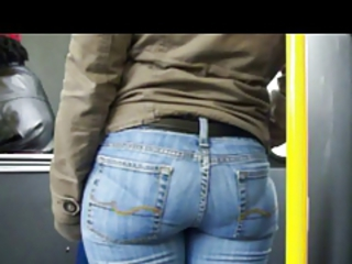 CANDID BOOTY IN TIGHT BLUE JEANS Stream Porn