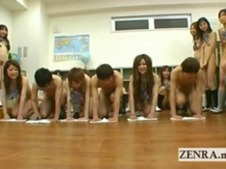 Japanese nudist students kinky oral sex cleaning game Stream Porn