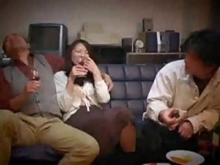 Asian Drunk Japanese MILF Mom