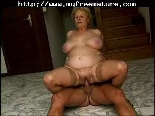 This Bbw Granny Enjoys A Good Fuck