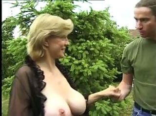 Big Tits Old and Young Outdoor