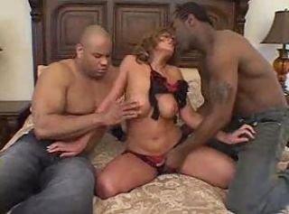 Ole! Ole! Feeling Hot Hot Hot! Another Latina Takes TWO Giant Black...