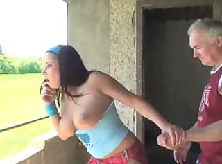 Daddy Daughter Natural Old and Young Outdoor Teen