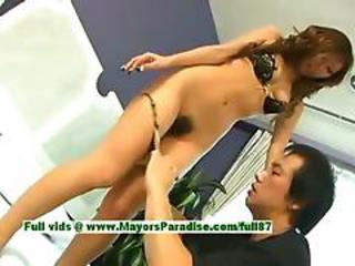 Misa Tsuchiya Innocent Naughty Chinese Girl Gets Pussy Licked And Kissing