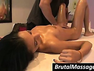 Massage Oiled Pornstar Teen