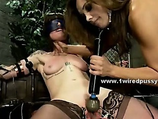 Bdsm Bondage MILF Stockings Toy