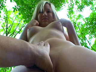 Blonde Outdoor Teen