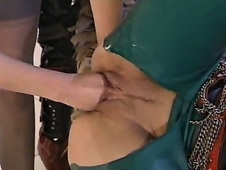 FFM - Latex anal and fist
