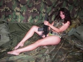 Army Babe Uniform