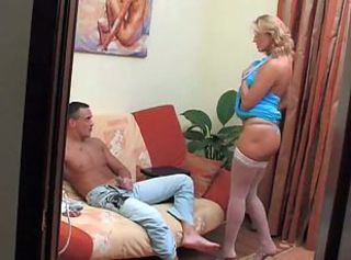 MILF Mom Old and Young Russian Stockings