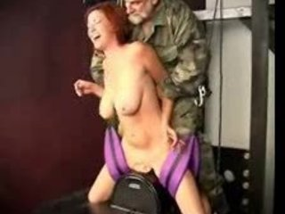 Army Big Tits Daddy Machine MILF Natural