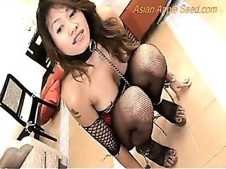 Asian Fishnet MILF