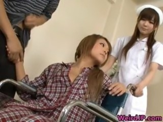 Cock hungry asian sluts sucking fucking part5