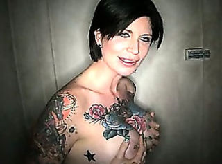 Amazing Gloryhole MILF Nipples Piercing Tattoo