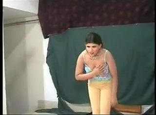 Amateur Arab Dancing Teen