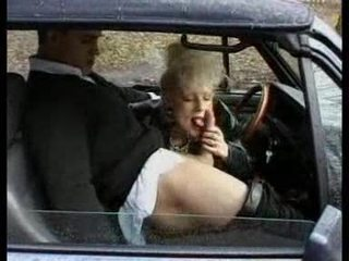 Blowjob Car Clothed Mature