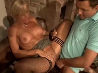 European German Hardcore MILF Stockings